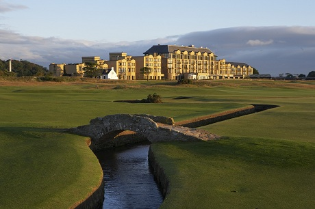 Old Course Hotel With Swilcan Bridge High Res