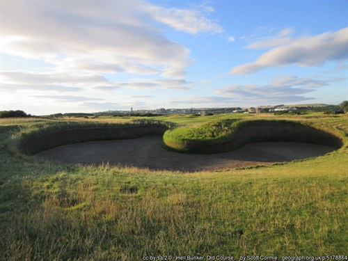 Hell Bunker at the Old Course