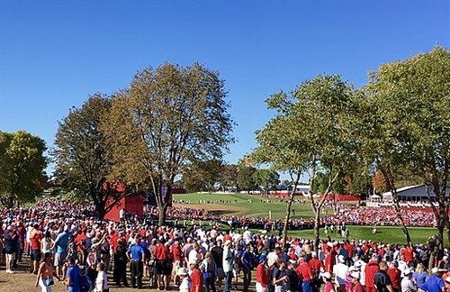 Hazeltine _National _Golf _Club _17th _Hole _-_Ryder _Cup
